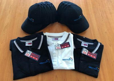 Golf Shirts and Caps